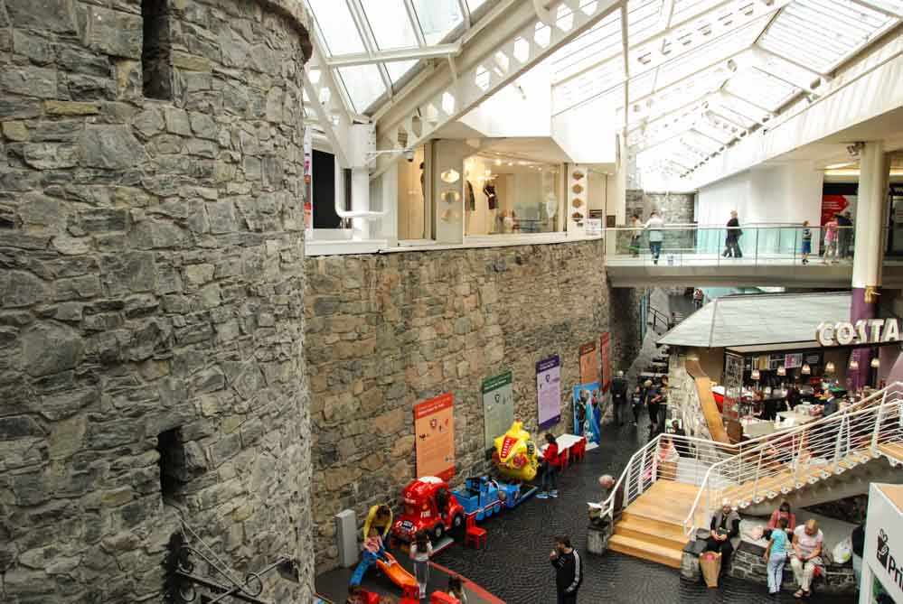 Galway, castle, shopping