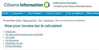 Izračunajte koliki vam je porez na plaću u Irskoj